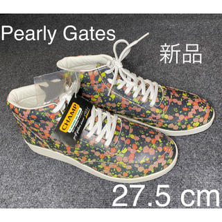 PEARLY GATES - PEARLY GATESパーリーゲイツ ゴルフシューズ27.5cm