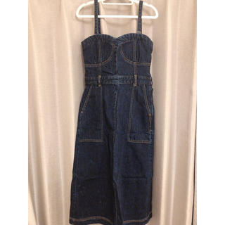 リリーブラウン(Lily Brown)のリリーブラウン サロペットジャンパースカート(サロペット/オーバーオール)
