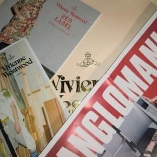 ヴィヴィアンウエストウッド(Vivienne Westwood)の📘2019SSルックブック📙カタログ3冊セット📕ヴィヴィアンウエストウッド(ファッション)