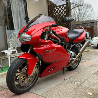 Ducati - ドゥカティ ss900  バッテリー、タイヤ新品 車検2年付