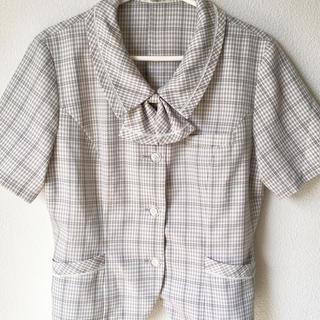 事務制服 オーバーブラウス 11号(シャツ/ブラウス(半袖/袖なし))