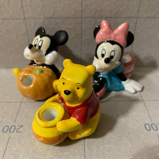 ディズニー(Disney)のペン立て?お香立て? 陶器 3つセット (アメコミ)