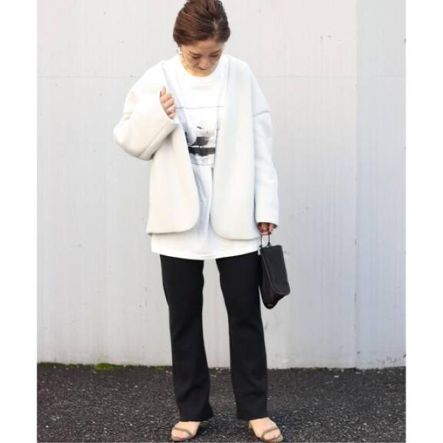 Plage(プラージュ)のPlage プラージュ スポンジ ショートコート3 新品未使用 レディースのジャケット/アウター(ノーカラージャケット)の商品写真