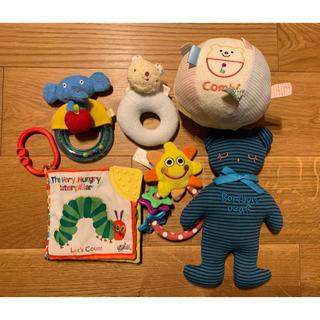 コンビ(combi)のベビー おもちゃ 6点セット コンビ ボール(がらがら/ラトル)