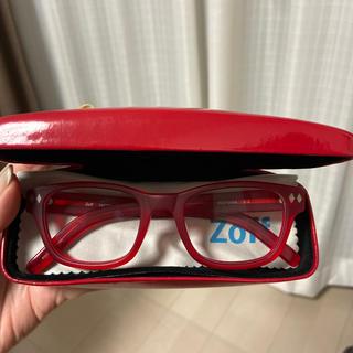ゾフ(Zoff)のNo13. Zoff 伊達メガネ 赤と黒あり(サングラス/メガネ)