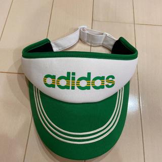 アディダス(adidas)の美品 adidas サンバイザー(サンバイザー)