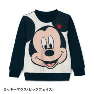 ディズニー(Disney)のミッキーマウス トレーナー(Tシャツ/カットソー)