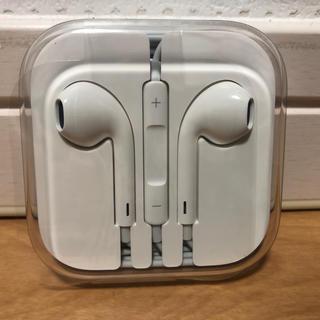 アイフォーン(iPhone)のiPhone純正品 Appleイヤホン(ヘッドフォン/イヤフォン)
