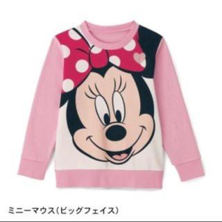 ディズニー(Disney)のミニーマウス トレーナー 90(Tシャツ/カットソー)