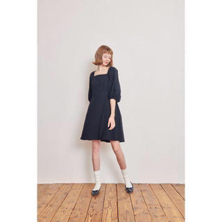 RUBY AND YOU - ❤︎完売品❤︎ RUBY and you amo スクエアネックワンピース