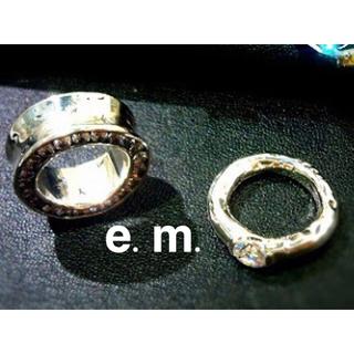 ビームス(BEAMS)のe.m. eternal ピンキーリング(リング(指輪))