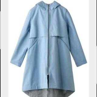 ルシェルブルー(LE CIEL BLEU)のルシェルブルー リステア カットボンディングコート スプリングコート 水色(スプリングコート)