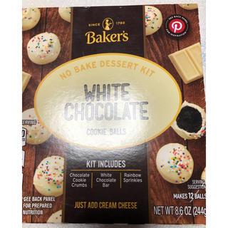 ホワイトチョコレートクッキーボール244gBaker's(菓子/デザート)