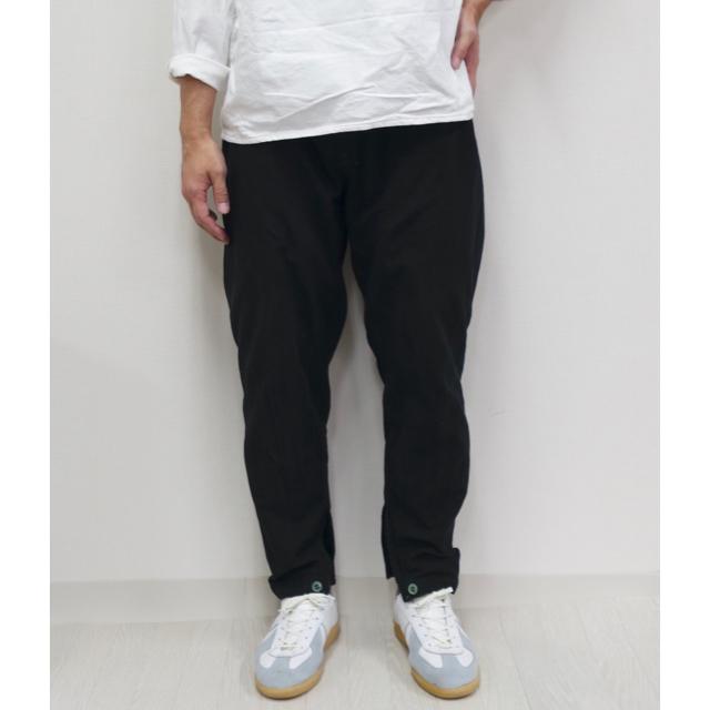 1LDK SELECT(ワンエルディーケーセレクト)のロシア軍 スリーピングパンツ 50 デッド 後染めブラック スリーピングシャツ メンズのパンツ(ワークパンツ/カーゴパンツ)の商品写真