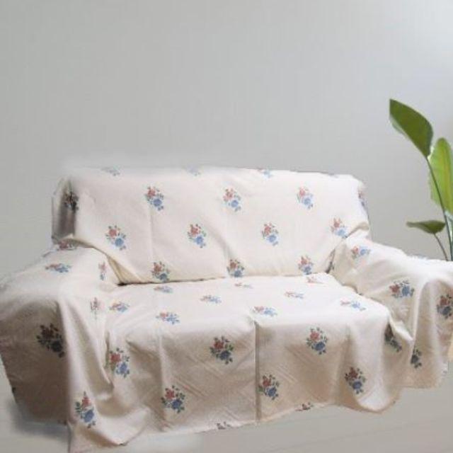 日本製 マルチカバー ソファーカバー ベッドカバー オロペサ 200×270cm インテリア/住まい/日用品のソファ/ソファベッド(ソファカバー)の商品写真