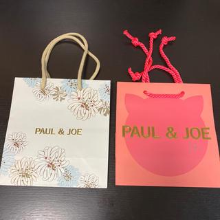 ポールアンドジョー(PAUL & JOE)のポール&ジョー 紙袋 ショッパー(ショップ袋)