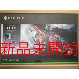 Xbox - 【新品】Xbox One X(スターウォーズ ジェダイ:フォールンオーダー同梱)