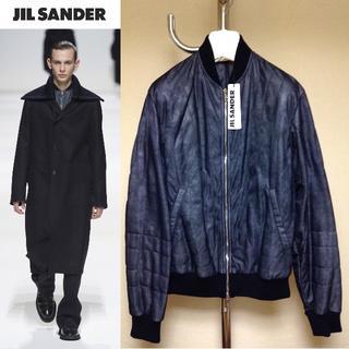 ジルサンダー(Jil Sander)の新品■46■18aw JIL SANDER■ガーメンドダイ中綿ブルゾン■7738(ブルゾン)