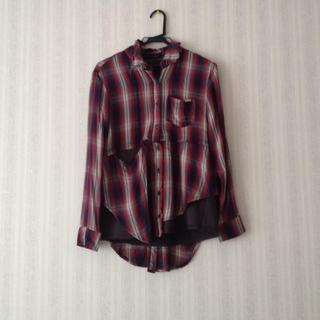 アゲインスト(AGAINST)のAGAINST◎チェックシャツ(シャツ/ブラウス(長袖/七分))