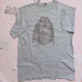 ロキエ(Lochie)のTシャツ yakusoku バージンメリー 古着 ロキエ flower(Tシャツ(半袖/袖なし))