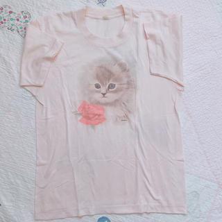 ロキエ(Lochie)のバージンメリー  yakusoku flower spank! 古着 ケ(Tシャツ(半袖/袖なし))