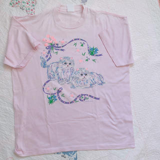 ロキエ(Lochie)のTシャツ バージンメリー  yakusoku flower spank! ねこ(Tシャツ(半袖/袖なし))