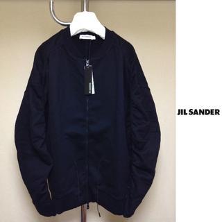 ジルサンダー(Jil Sander)の新品■XL■JIL SANDER■スウェット ボンバージャケット■黒■7908(ブルゾン)