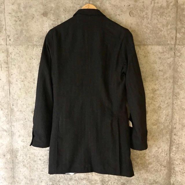 Paul Harnden(ポールハーデン)の【極美品 国内タグ】ポールハーデン ウール ロングブレザー ジャケット ブレザー メンズのジャケット/アウター(テーラードジャケット)の商品写真