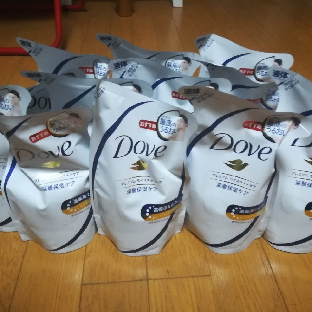 Unilever(ユニリーバ)のダヴ ボディウォッシュ プレミアムモイスチャーケア 詰替(360g)×12入セッ コスメ/美容のボディケア(ボディソープ/石鹸)の商品写真