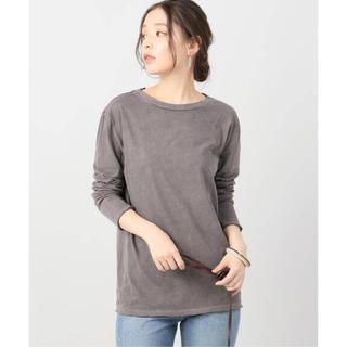プラージュ(Plage)のPlage ピースダイロングTシャツ(Tシャツ/カットソー(七分/長袖))