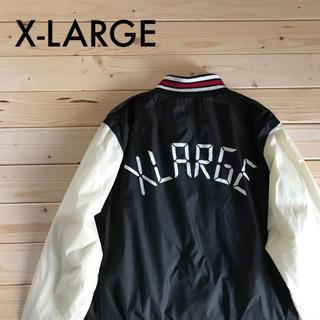 XLARGE - XLARGE エクストララージ  スカジャン ブルゾン