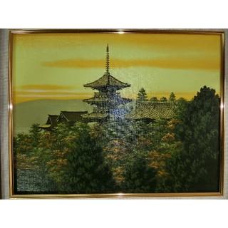 【お薦め】朝隈敏彦真筆(清水寺)6号(絵画/タペストリー)
