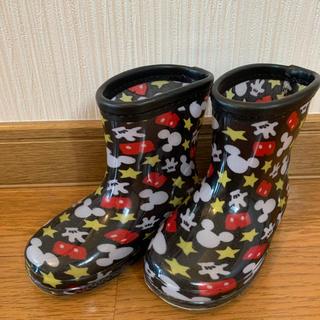 ディズニー(Disney)のミッキー 長靴 13cm 男の子(長靴/レインシューズ)