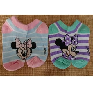 Disney - ミニー 靴下 14-18センチ
