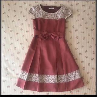 エニィスィス(anySiS)の🌸春🌸膝丈 レース付き ワンピース ドレス(ミディアムドレス)
