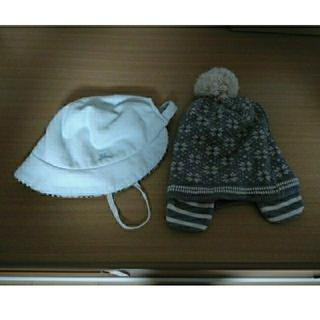 バーバリー(BURBERRY)の【Ami Mamuro様専用】※バーバリーのみ ベビー帽子、ニット帽セット(その他)