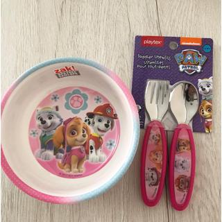 ディズニー(Disney)のパウパトロール パウパトロール ボウル スプーン フォーク お皿 食器 (プレート/茶碗)
