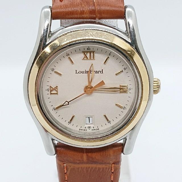 Louis Erard - Louis Erard ルイ エラール Date レディース クォーツ 腕時計の通販