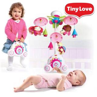 タイニーラブ(TINY LOVE)のTiny Love メリー、メリースタンド(オルゴールメリー/モービル)