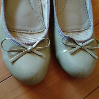 イング(ing)のing レザーフラットシューズ(ローファー/革靴)