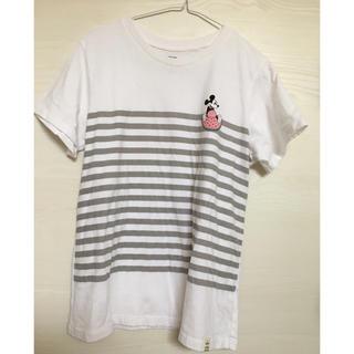 ユニクロ(UNIQLO)のused🍉UT ミッキー TシャツXL すいか🍉(Tシャツ(半袖/袖なし))