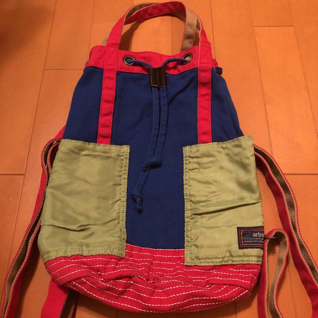 CUBE SUGAR(キューブシュガー)のキューブシュガー、2WAYバッグ レディースのバッグ(その他)の商品写真