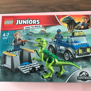 レゴ(Lego)の★ふーこ様専用★レゴジュニア ジュラシックワールド 10757(積み木/ブロック)