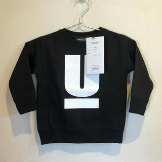 アンダーカバー(UNDERCOVER)のアンダーカバー キッズ トレーナー スウェット 黒 100(Tシャツ/カットソー)