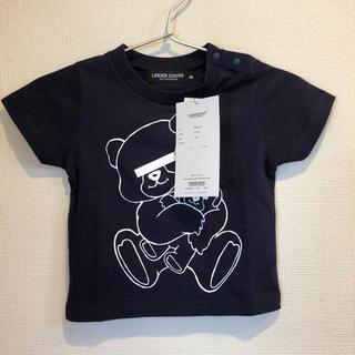 アンダーカバー(UNDERCOVER)のアンダーカバー キッズ Tシャツ くま ネイビー (Tシャツ/カットソー)