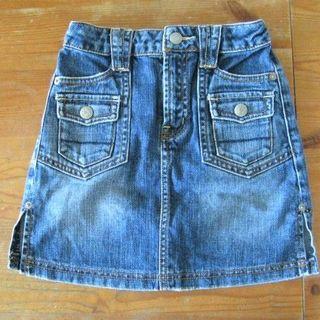 エムピーエス(MPS)のMPS)ポケットいっぱい(120)ハーフのデニムスカート☆美品(スカート)
