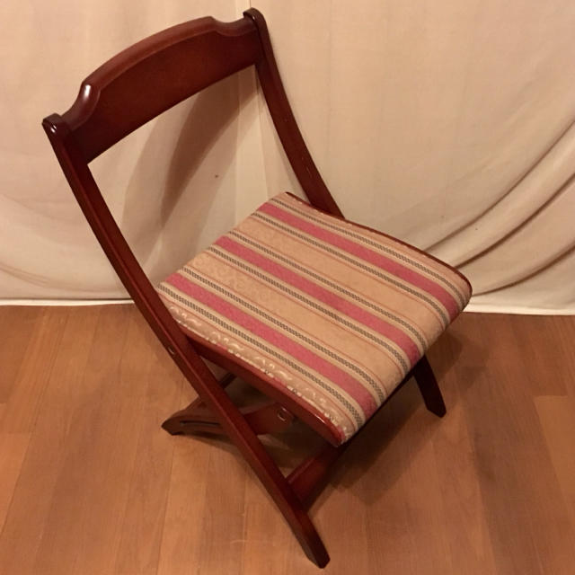 """【maruni】""""地中海"""" ツーロン フォールディングチェアNo.2 インテリア/住まい/日用品の椅子/チェア(折り畳みイス)の商品写真"""