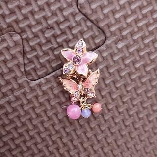 アナスイ(ANNA SUI)のANNA SUI☆ピアス Flower&Butterfly 片耳(ピアス)