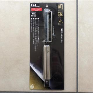 カイジルシ(貝印)の関孫六 縦型ロングピーラー 貝印(調理道具/製菓道具)