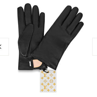 ルイヴィトン(LOUIS VUITTON)のLouis Vuitton レザー手袋 !!定価10万(手袋)